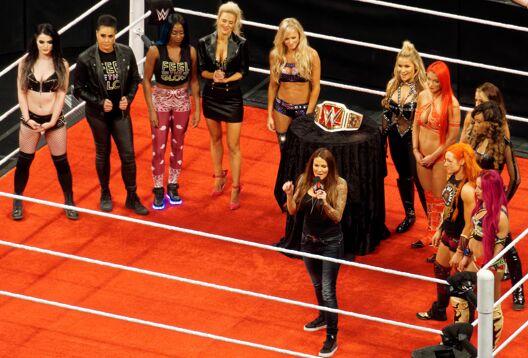 Présentation du titre de championne féminine de la WWE