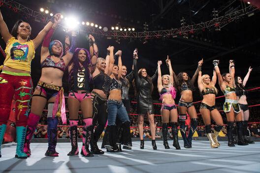 La révolution féminine de la WWE